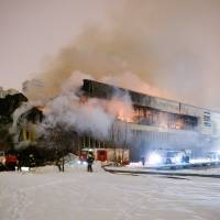 A million rare documents damaged in Moscow fire