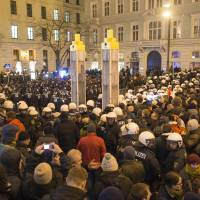 Anti-Islam group PEGIDA holds first Austria march