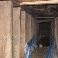 Toronto mystery tunnel had rosary nailed to wall, police say