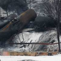 Oil train fireball seen adding pressure for U.S. safety decision