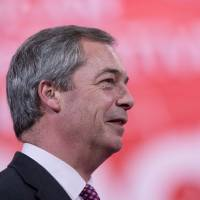 Nigel Farage | AFP-JIJI