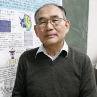 Naomasa Nakai, a professor and leading expert on black holes at Tsukuba University, is calling for astronomical observations in Antarctica to learn about galaxies. | KYODO