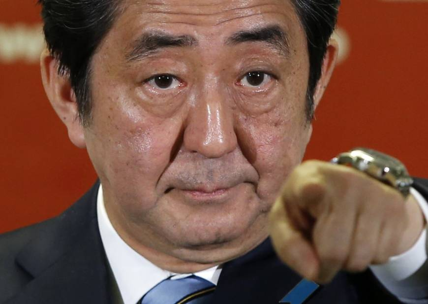 Under Abe's reign, media self-censorship in Japan is rising