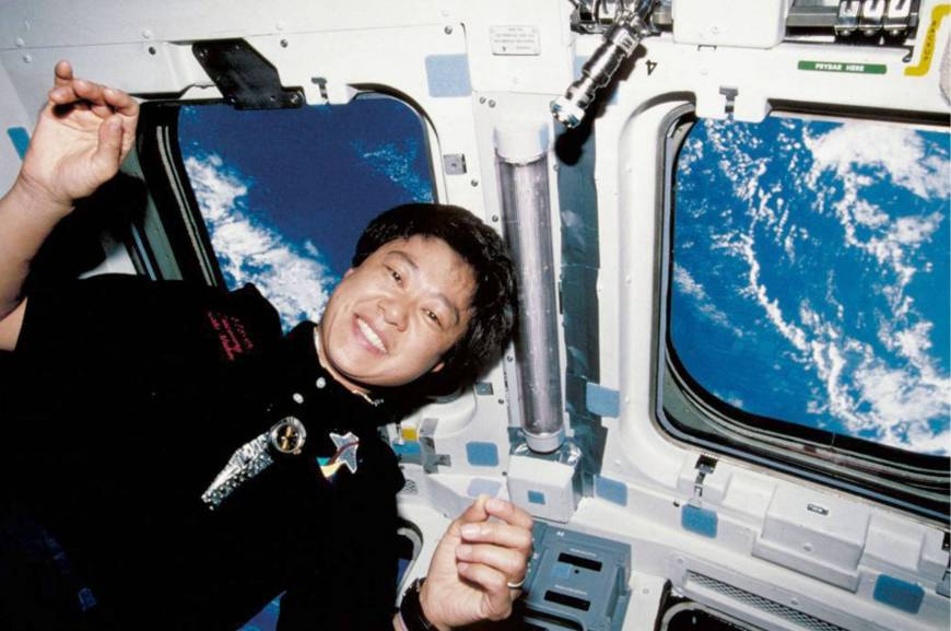 Nation's first astronaut, Chiaki Mukai, honored by France