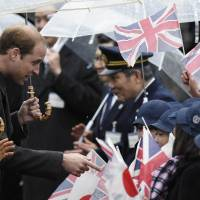 Prince William receives warm welcome to Japan