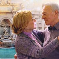 Aging gracefully: 'Elsa and Fred' stars 80-year-old Shirley MacLaine and 85-year-old Christopher Plummer, playing two elderly people who shake off the shackles of old age and embark on a new relationship. | ©  2014 CUATRO PLUS FILMS, LLC