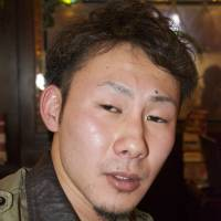 Kengo Fukushima, Manufacturing, 21 (Japanese): It's difficult to say. Islamic State captured and killed these Japanese, and the government did not take active measures to save them, but I think that another nation — one that claims it will never yield to terrorism — should be held responsible for this tragedy.