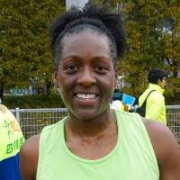 Beofra Butler, U.S. military, 41 (American): Because I live in Korea, traveling to do the Tokyo Marathon is easy. I heard it was a wonderful race, so I thought I would take advantage and come over. Today is my 32nd marathon. My next will be in Boston.