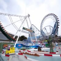 Outdoor thrills: Tokyo Dome City amusement park. | COURTESY OF TOKYO DOME CITY