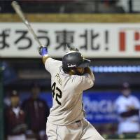Fly like an eagle: Slugger Wily Mo Pena hit 32 home runs for Orix last season. | KYODO