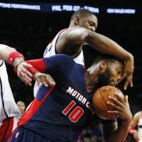 Pistons drive past Wizards