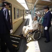 Helping hand: Public transport in Japan is more accessible for people with physical disabilities than it once was. | ISTOCK