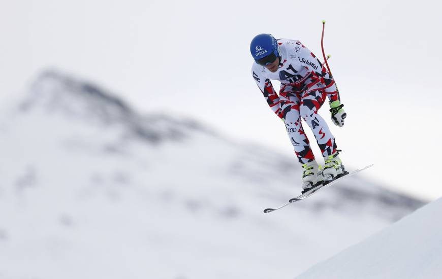 Olympic champion Mayer leads Austrian downhill sweep