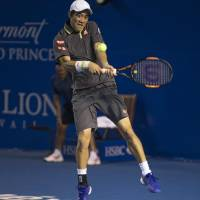 Nishikori marches into semifinals