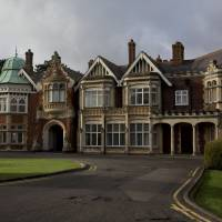 New tourist spot: An exterior view of Bletchley Park museum, where the movie 'The Imitation Game' is set. | AP