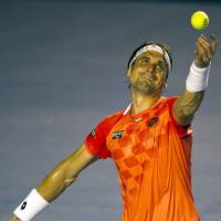 FInal countdown: David Ferrer reached the Mexico Open final on Friday. | AFP-JIJI