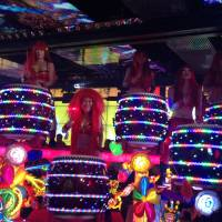 Performers at The Robot Restaurant put on a high-energy show in Kabukicho.