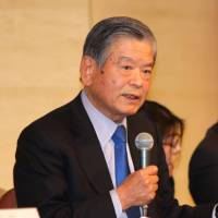 Big ambitions: Saburo Kawabuchi, co-chairman of the Japan 2024 Task Force, says domestic basketball teams need to embrace major changes for the sport to achieve greater success in the future. | KAZ NAGATSUKA