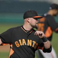 McGehee at ease after trade to San Francisco