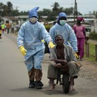 Measles cases seen almost doubling in Ebola epidemic countries