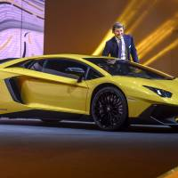 Small SUVs, pricey sports cars dominate at Geneva auto show