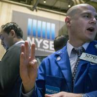 Wall St. bounces back in broad rally; bank shares gain