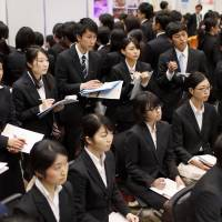 25% of major firms to hire more new graduates next year, survey suggests