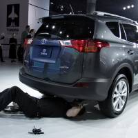 Toyota recalls RAV4 EVs to repair Tesla system posing crash risk
