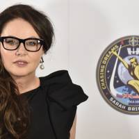 Sarah Brightman working on song to perform from space