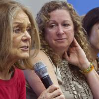 Steinem, other women announce plan to walk Korean DMZ