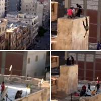 Egypt executes man for throwing two to their deaths from roof