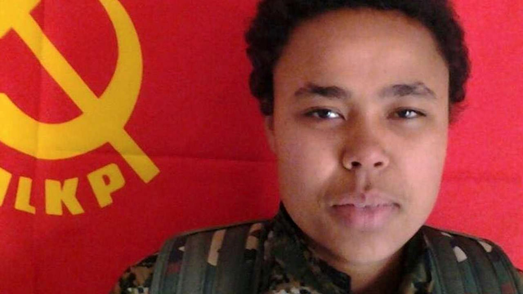 This undated image released by the Kurdish Peoples Protection Units, known as the YPG, on Monday shows Ivana Hoffman, 19, a German citizen fighting with Kurdish militiamen who was killed Saturday battling the Islamic State group near the village of Tel Tamr, Syria, according to Kurdish officials and activists. Hoffman, born in Germany to South African parents, is the third foreign national — and the first female foreign fighter — known to be killed fighting with Kurdish forces against the Islamic State group.   AP