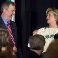 Hillary Clinton inducted into Irish America Hall of Fame