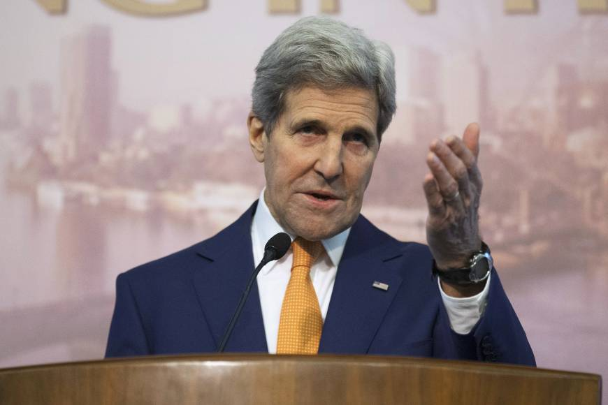 Kerry suggests place for Assad in Syria talks