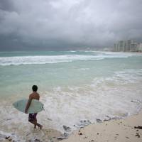 A boulder-covered berm around Cancun, Mexico, may be the remnants of a giant tsunami more than 1,000 years ago. | REUTERS