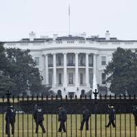 U.S. probing report Secret Service agents drove car into White House barrier