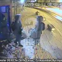 This video image eleased March 1 by Turkish TV  reportedly shows three missing British teenage girls at an Istanbul bus terminal before they boarded a bus to a city near Turkey's border with Syria. Turkey is now saying a spy working for the U.S.-led coalition got the trio into Syria, where it is believed they hooked up with the Islamic State group. The alleged spy has been nabbed. | AP
