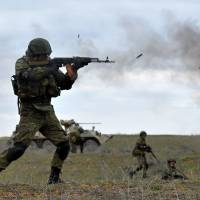 Putin's massive military drills intended to send message to West on Ukraine