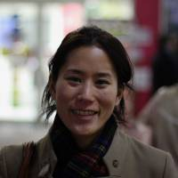 Miwa Ikegami, Medical Student, 33 (Japanese): I have been worrying about the effects of the disaster on the Japanese economy. I live outside of Tokyo and do not think it is entirely safe yet — I feel that there is some danger still remaining.