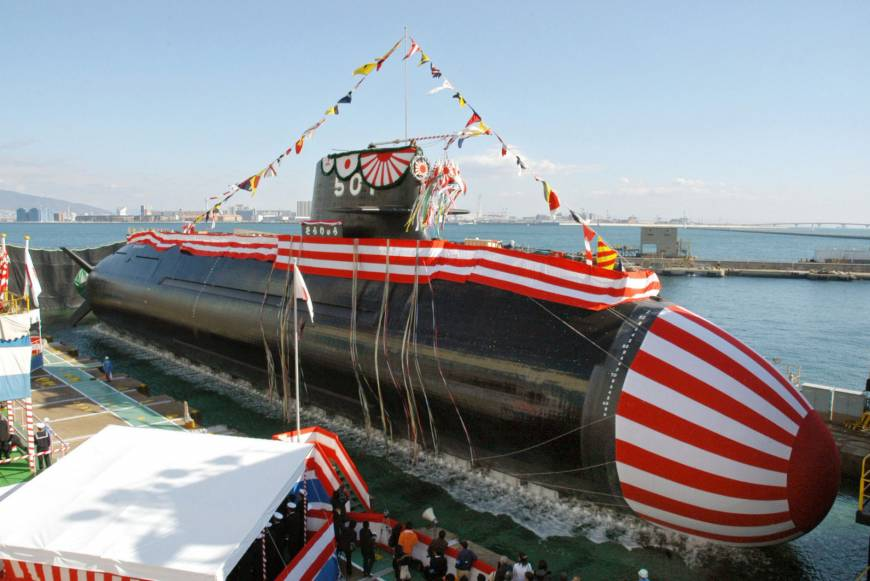 India interested in buying Japan's Soryu-class submarines