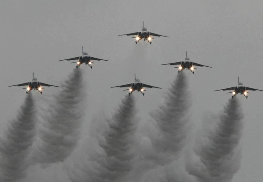 Chasing Chinese planes 400 times a year stretches Japan's top guns