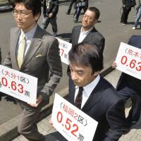 Fukuoka High Court slams vote disparity in 2014 Lower House election