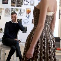 Capturing Raf Simons and the ghost of Christian Dior