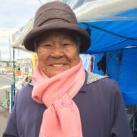 'The commander (at Camp Schwab) always told us how grateful we should be. He said that without the U.S., we'd be living naked in chicken shacks.' says Fumiko Shimabukuro, a Battle of Okinawa survivor and former worker at the Camp Schwab U.S. military base in Nago. | JON MITCHELL