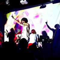 Lights and music: Multimedia five-piece Mahousyoujo-ni-naritai play its first-ever show abroad in Austin, Texas.