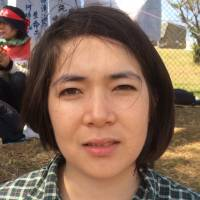 Natalie Allison, Student, 26 (British): The military can't be used as a means of maintaining peace, nor to protect innocent people caught up in war. People brought up with war only know of war. People who have survived war only want to maintain peace.