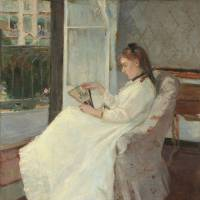 Berthe Morisot's 'The Artist's Sister at a Window' (1869) | NATIONAL GALLERY OF ART, WASHINGTON, AILSA MELLON BRUCE COLLECTION