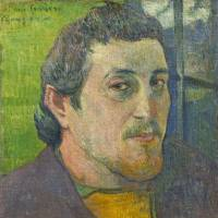 Paul Gauguin's 'Self-Portrait Dedicated to Carriere' (1888 or 1889) | NATIONAL GALLERY OF ART, WASHINGTON, COLLECTION OF MR. AND MRS. PAUL MELLON