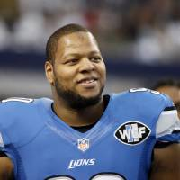 Suh set for free agency after Lions pass on tag