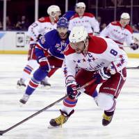 Ovechkin, Capitals defeat Rangers